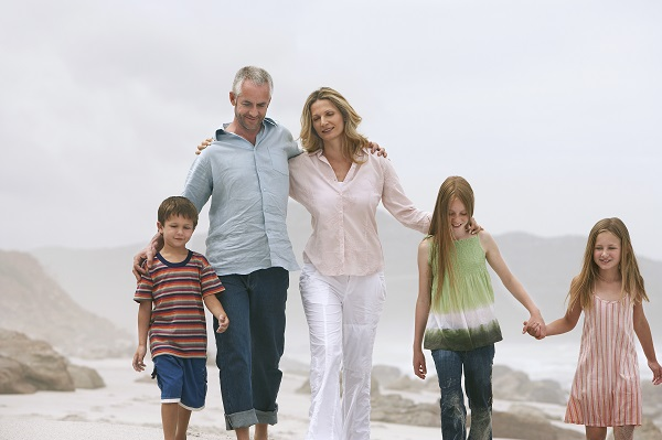Spending more time with family can eliminate feeling not fulfilled in life for many.